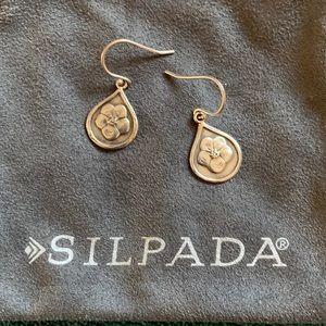 Silpada poppy earrings